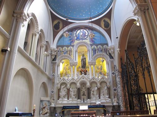 The Whitefriar Street Carmelite Church In Dublin