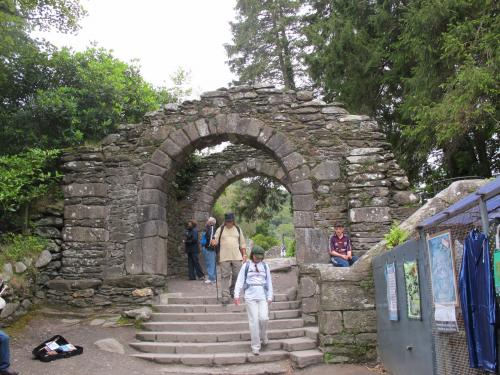 The Gateway to the monastic city of Glendalough