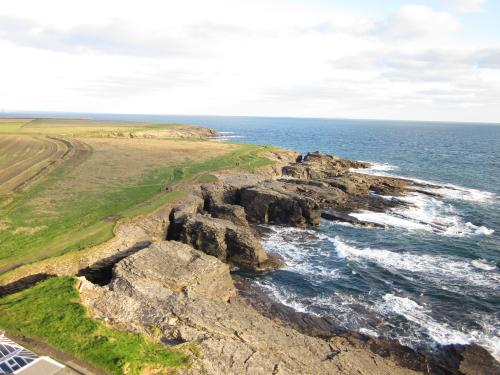 The view from Hook Head Lighthouse